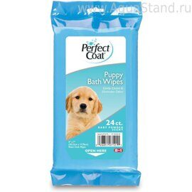 Bath Wipes - 24 Count Puppy 24 шт.