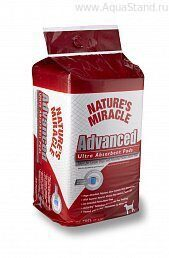 Пеленки Ультра-абсорбирующие  Advanced Ultra Absorbent Pads 8in1/Nature's Miracle (100 шт.)  P-5772