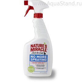 Спрей-антигадин, для кошек,  Just for Cats No More Spraying  SOR, 710 ml, 8in1/Nature's Miracle P-5781