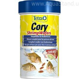 Корм для плекостомусов и коридорасов Tetra Cory Shrimp Wafers 100 мл
